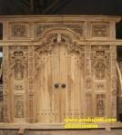 Gebyok Pintu Jati