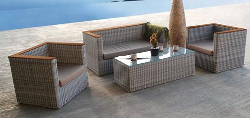 Kursi Tamu Rotan Sintetis Kursi Tamu Prabu Jati Furniture